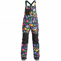 Airblaster HOT BIB FLOWERS BLACK