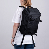 RVCA VOYAGE SKATE BACKPAC BLACK