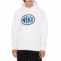 Nike M NK SB Y2K ONE OFF HOODIE WHITE/SIGNAL BLUE