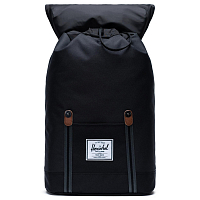 Herschel RETREAT BLACK/BLACK/TAN