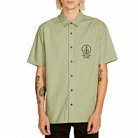 Volcom CROWD CONTROL S/S DUSTY GREEN