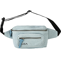 RVCA RECRUIT BUM BAG DENIM