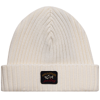 Paul & Shark RIBBED WOOL HAT OFF WHITE