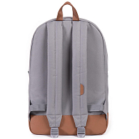 Herschel Heritage GREY/TAN SYNTHETIC LEATHER