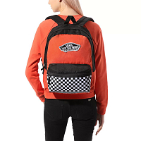 Vans REALM BACKPACK PAPRIKA/CHECKERBOARD