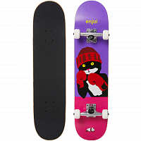 Enjoi CATTY PACQMEOW FP FULL SIZE COMPLETE Purple/Pink