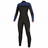 Mystic DAZZLED FULLSUIT 4/3MM BZIP WOMEN NAVY
