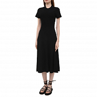 Proenza Schouler White Label CUT OUT Back Knit Dress BLACK