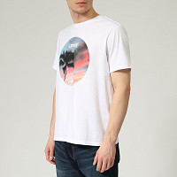 Levi's® GRAPHIC CREWNECK TEE BI PHOTO TEE WHITE