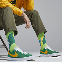 Nike SB ZOOM BLAZER LOW PRO GT LUCKY GREEN/UNIVERSITY GOLD-BLACK-WHITE