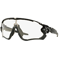 Oakley JAWBREAKER POLISHED BLACK/CLEAR TO BLACK PHOTOCHROMIC