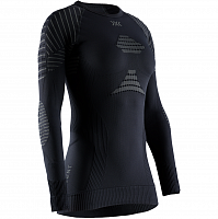 X-Bionic INVENT 4.0 SHIRT ROUND NECK LG SL WMN BLACK/CHARCOAL