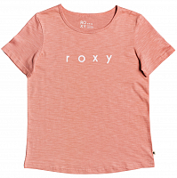 Roxy RED SUNSET J TEES ROSETTE HEATHER