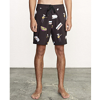 RVCA HOT FUDGE TRUNK BLACK