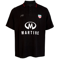 MARTINE ROSE Polo Shirt BLACK