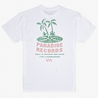 RVCA PARADISE RECORDS SS White