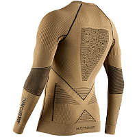 X-Bionic RADIACTOR 4.0 SHIRT ROUND NECK LG SL MEN Gold/Black