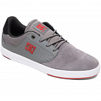 DC PLAZA TC M SHOE GREY/GREY/RED