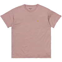 Carhartt WIP W' S/S CHASY T-SHIRT BLUSH / GOLD