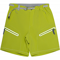 And Wander Light Hike Shorts YELLOW GREEN