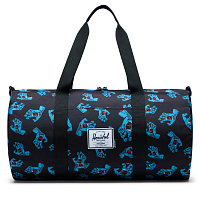 Herschel SUTTON MID-VOLUME BLACK CYAN SCREAMING HAND