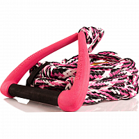 Liquid Force SURF DLX MOLDED SURF ROPE PINK
