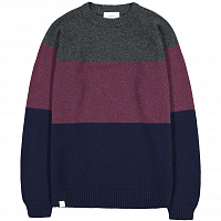 Makia BLOCK KNIT WINE