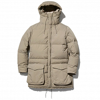 Snow Peak RECYCLED NY RIPSTOP DOWN COAT BEIGE