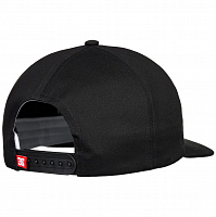 DC SK8 BEVELED HAT M HATS BLACK
