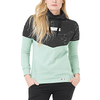 Picture organic PLANER HOODY Marble Almond Green