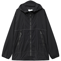 And Wander PERTEX WIND JACKET BLACK