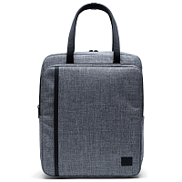 Herschel TRAVEL TOTE Raven Crosshatch