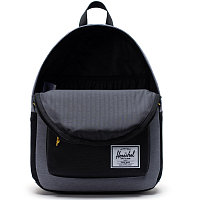 Herschel CLASSIC X-LARGE MID GREY CROSSHATCH/LIGHT GREY CROSSHATCH/BLACK