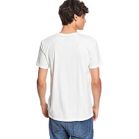 Quiksilver FIRSTFIRESS M TEES SNOW WHITE