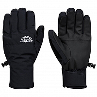 Quiksilver CROSS GLOVE M GLOV BLACK