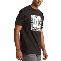 DC PATTERN BOX SS M TEES BLACK