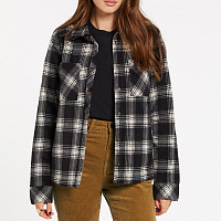 Volcom PLAID DREAMS JKT SAND