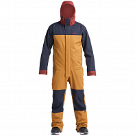 Airblaster STRETCH FREEDOM SUIT GRIZZLY OXBLOOD