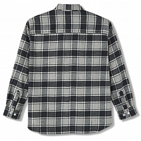 POLAR SKATE CO Flannel Shirt BLACK