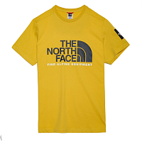 The North Face M SS FINE ALP TEE 2 BAMBOO YEL (ZBJ)