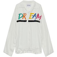 NOMA T.D. DREAM EMB. SHIRT White