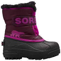 Sorel CHILDRENS SNOW COMMANDER Purple Dahlia