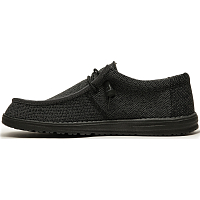 Dude WALLY SOX MICRO TOTAL BLACK