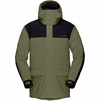 NORRONA NORRØNA GORE-TEX OUTDOOR COAT OLIVE NIGHT