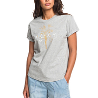 Roxy EPIC AF LOGO J TEES LIGHT GREY HEATHER