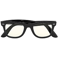 Ray Ban Wayfarer SHINY BLACK/PHOTO GREY