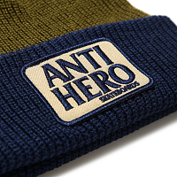 Anti-Hero BEANIE RESERVE PATCH NAVY