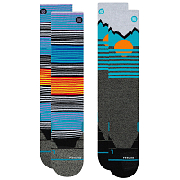 Stance Mens Mountain 2 Pack MULTI