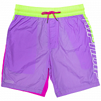 RIPNDIP FLO-RES COLOR BLOCK SWIM SHORTS MULTI