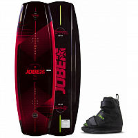 Jobe VANITY WAKEBOARD & HOST BINDINGS SET ASSORTED